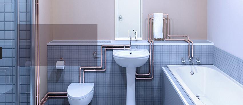 凉台下水管装修效果图